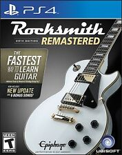 Rocksmith 2014 Edition Remastered (PlayStation 4)
