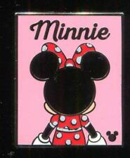 2018 DLR Hidden Mickey Back Silhouette Minnie Completer Disney Pin