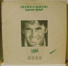 FRANCO CALIFANO - IMPRONTE DIGITALI - LP