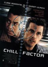 CHILL FACTOR - 27x40 D/S Original Movie Poster One Sheet CUBA GOODING JR. 1999
