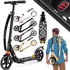 KESSER® Cityroller Scooter 205mm Roller Kinderroller Tretroller Kickroller Alu <br/> ✔️Stoßdämpfer✔️Rollen 205mm✔️Kugellager ABEC7✔️klappbar