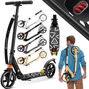 KESSER® Cityroller Scooter 205mm Roller Kinderroller Tretroller Kickroller Alu