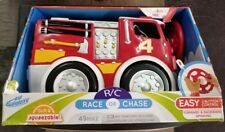 Kid Galaxy R/C Race Or Chase Soft & Squeezable Fire Truck - New / Sealed