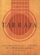 Partition pour guitare - Tarraja - 24 Petites Pièces