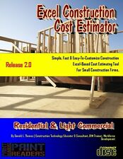 Excel Based Construction Cost Estimating Tool