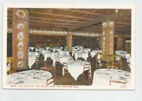 Yellowstone National Park,OLD FAITHFUL INN Postcard-Haynes #28461, 1940's