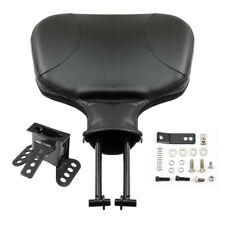 Adjustable Driver Rider Backrest Fit For Harley Touring Road Electra Glide 88-08