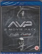 AVP Alien VS. Predator 1 & 2 - Requiem Blu-ray Region B NEW SEALED