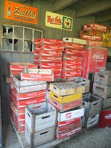 USA Coca Cola Holzkiste Deko Getränkekiste Coca Cola Kiste