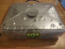 Microsoft Xbox Original Crystal-Konsole nur