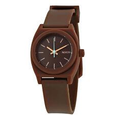 Nixon Small Time Teller Dark Brown Dial Ladies Watch A425-400-00