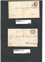 Hannover 1859, seltene Briefe ex Michelnummern.: ex 14 - 25 o, gestempelt o