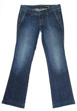Express Womens Jeans Stella Boot Leg Stretch Low Rise Dark Indigo Size 6 31 x 32