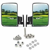 10L0L Golf Cart Mirrors Side Rear View Fits Club Car Ezgo Yamaha US STOCK