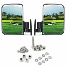 10L0L Golf Cart Mirrors Side Rear View Fits Club Car EZGO Yamaha US Stock