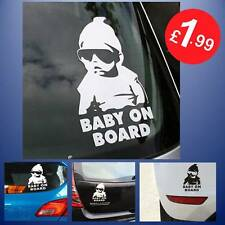 LESO/© Baby Princess on Board White Car Sticker S019