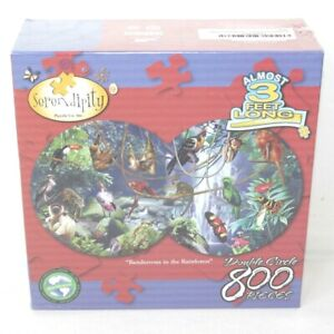 Rendevous in the Rainforest Yuan Lee by Serendipity 800 Piece Puzzle NEW in Box