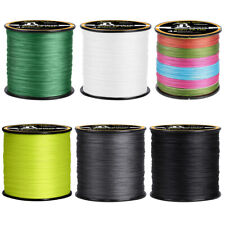 300/500/1000M Strong Pe Braided Line Fishing 4 8 Strands Freshwater & Saltwater