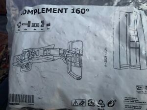 New KOMPLEMENT Soft closing hinge f corner section 6 pieces 103.684.89 *IKEA