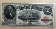 1917 $2 two dollars United States Note legal tender