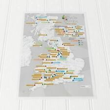 Cycle Climbs Collect and Scratch Print by Maps International Ltd (Sheet map,...