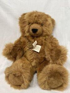 """Vintage Hermann Original 17"""" Teddy Bear Made In West Germany Has Original Tags"""