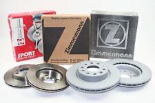 Zimmermann 600.3233.20, ad 59740571 DISCHI FRENO SET FRENO AUDI SEAT SKODA VW