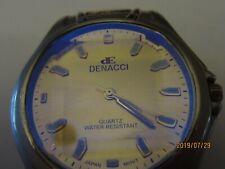 Denacci Men's Watch - Round Dial - Silver Linked Band - Japan Movement