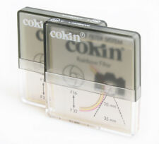COKIN A RAINBOW 1/2 (195/196) FILTERS IN CASES SET OF 2