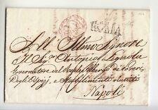 1824 STATO CHIESA lettera contabilità ROMA-NAPOLI-h323