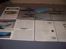 VINTAGE...NORTHROP YF-23A  HISTORY..HISTORY/DETAILS/PHOTOS/3-VIEWS..RARE! (679K)