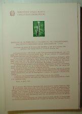 1963  ITALIA  Bollettino Postale N° 96 Istituto Nazionale delle Assicurazioni