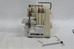 Singer 14U12A Overlocker Sewing Machine - NO Foot Pedal - AS IS