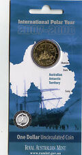 "2007 $1 Uncirculated Coin: ""International Polar Year."""
