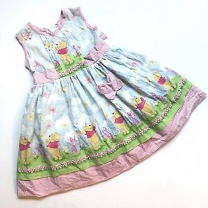 Vtg Winnie the Pooh Daisy Kingdom size 4 girls with built in Crinolin, STH 28 in