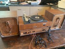 New listing Panasonic Receiver Re 7671 and Turntable 7673 plus 2 Speakers