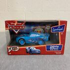 Disney Pixar CARS Lightning McQueen Dinoco Blue RC Radio Controlled Car *NEW*