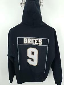 Drew Brees GOAT Drew Dat! #9 Hoodie Pullover NFL New Orleans Saints Mens