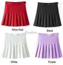 Mujer Cintura Alta Falda Plisada Delgado Tenis Faldas Vestido Mini Playful CO99