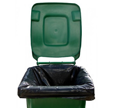 More details for high quality extra large wheelie bin liners waste rubbish bags 300l