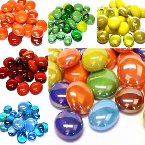 Glass Mosaic Nuggets/gems for Arts and Crafts - 100g Various Colours