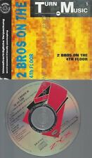 CD--2 BROTHERS ON THE 4TH FLOOR--TURN DA MUSIC UP | SINGLE