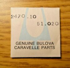 Bulova Caravelle 2470.10 Factory Replacement Part 51.020 Hand Setting Stem Nos