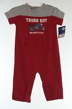 New Carters Jumpsuit Tough Guy Motorcycle Co. 9 months mos