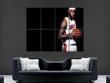 Lebron James Giocatore Di Basket USA Art GRANDE ARTE Enorme Gigante Poster stampati