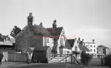 PHOTO  SR SWANAGE RAILWAY STATION EXTERIOR VIEW BUILDING 27/2/66 1
