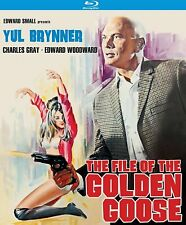 FILE OF THE GOLDEN GOOSE Yul Brynner (KLORBER Blu-ray 2016) NEW See 25cents ship