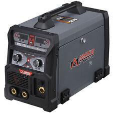 Amico Mts 205 205 Amp Mig Flux Lift Tig Stick Arc Combo Welder 115230v Welding