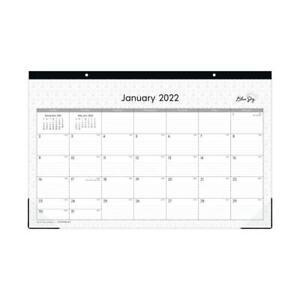 """Blue Sky Monthly Desk Pad, 11"""" x 17"""", Enterprise, Jan-Dec 2022, 111293-22"""