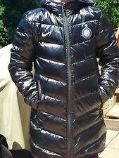 Nike jacket coat hooded down black size M ladies used for a week